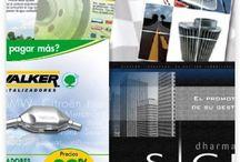 Catálogos / En Símbolo Gráfico creamos catálogos adecuados para la promoción y el posicionamiento de una empresa, son una publicidad muy útil y duradera.