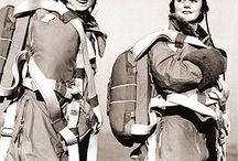 War, Female (WASP) aviators / Woman aviators of WW2 the pathed the way for future female pilots....brave and determined.
