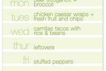 Meal and Menu Planning Ideas / Ideas, recipes and tips for all your menu planning needs.  / by Kim Beaulieu | Cravings of a Lunatic