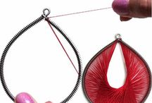 textile jewelry / by Van Hoang