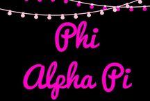 Phi Alpha Pi: Character Profiles