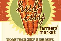 Tooting Our Own Horn / Just some of the things that Hub City Farmers' Market does in order to complete our mission of increasing the demand and availability of Healthy Food in Spartanburg County.