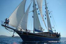 ventus sailing 2013 / zeilen op een klassiek houten zeilschip langs de mooie zuidwest kust van Turkije of langs een aantal Griekse eilanden?