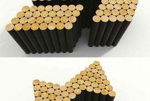 wooden pole ideas