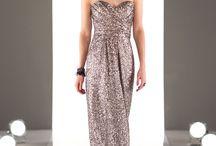 Stunning Silver Bridesmaid Dresses