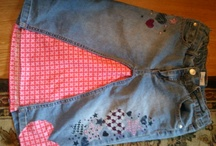 sewing for momma pants to skirt