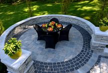 Outdoor Space / Why not make your outdoor space just as beautiful as your indoor space?  Outdoor kitchens and fire pits are a great way to enjoy more of the outdoors.  When you have a short season like we do in New England you always want to be outdoors.