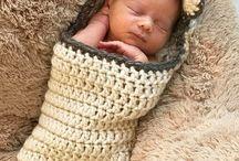 tocas de bebê crochê