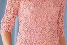 blusa tejidas