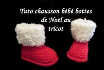 chausson tricot