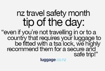 Nz Travel Safety Month: Tips / 31 travel safety tips to ensure a safe, secure trip.