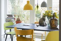 Dining Spaces / Tables, chairs and arrangements