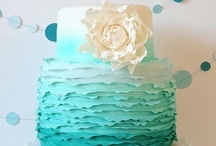 Ombre cake  / by Kelly Gooden