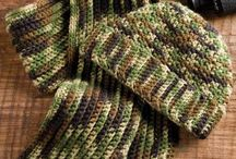 Crochet accessorize for men / by Marie Hahn
