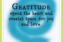 Words & Quotes about GRATITUDE & THANKFULNESS