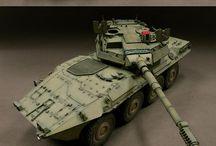 Modelling-Modern tank