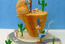 Road runner cakes, cookies and cupcakes