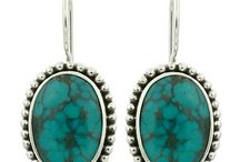 Earrings / Beautiful 925 sterling silver earrings
