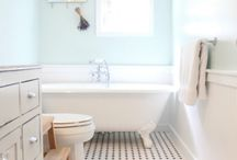 vintage bathroom inspiration / by Katie Lime