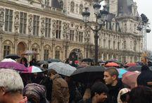 Vos plus belles manifestations de solidarité #JeSuisCharlie / Après l'attentat perpétré contre la rédaction de Charlie Hebdo, vous avez été nombreux à témoigner votre solidarité avec les victimes.