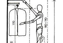 dimensi lemari baju