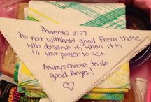 Faith / Things that reflect our love for God