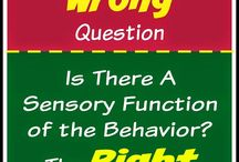 sensory/behaviour