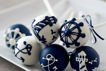 Nautical Cake Pops by Sweet Lauren Cakes / by Sweet Lauren Cakes