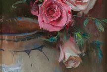 paintings: floral