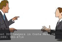 DUI Attorney Costa Mesa