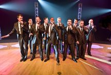 """Straight No Chaser / SNC is a 10-man a capella group, originally from Indiana Univ. Their video of """"12 Days of Christmas"""" went viral on YouTube, landing them a recording contract. A nicer, more talented, funnier, friendlier, more hardworking, sweeter, crazy in concert, group of guys, you will ever meet!"""