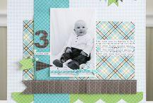 Scrapbooking - 1 photo layouts