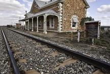 Abandoned railway stations