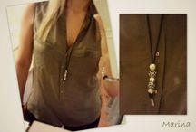 Pandora leather necklace ideas