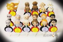 Harry Potter cake pops by SUSYPOPS