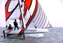 Sailing Beach Cats