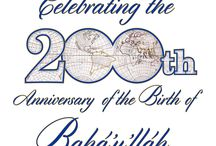 "Bicentennial graphics for the Birth of Bahá'u'lláh / These graphics are free to use and share. Please consult with your Assembly on the best approach for your region. To download the images, click the image you like. It will open in a new window. In the new window under the image will be an ""open"" link. Click the open link. A larger image will open. Right click the image and a menu will appear. Click ""save image as...."" Save the image to your computer. If needed I am at  joepaczk@gmail.com"