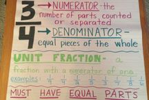 Math - Fractions / by Elizabeth Simental