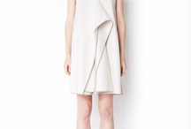 Geometric shapes in fashion / Clothing designs where simple geometric shapes form a key part of the design