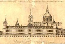 Escorial / Imágenes y grabados del Monasterio de San Lorenzo de el Escorial.
