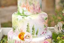 Painted Cakes, Cookies, and Sweets! / Featuring the best hand painted cakes, cupcakes, and sweets! So pretty!