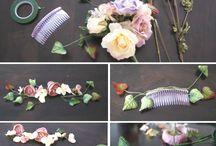 flower crown elegan