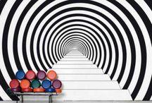 optical wall art