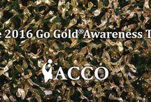 2016 Go Gold Awareness Tree / 2016 Go Gold Awareness Tree