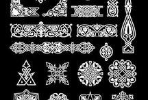 Stencils and vinyl cut designs / Designs for vinyl cut stickers and wall art, window stencils and decor stencils