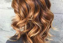 Color de cabello / rubio dorado cenizo