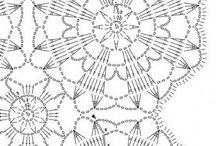 crochet tablecloths & doilies