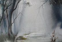 Watercolors nature