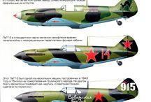 Lavochkin airplanes