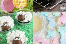 easter cakes and fancies